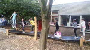 Groene schoolpleinen Amsterdam